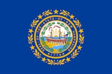 State of New Hampshire Flag