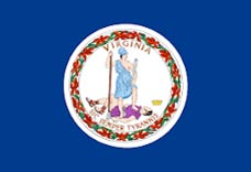 State of Virginia Flag