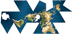 Dymaxion Map-Fuller Projection