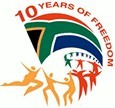 South Africa 10 years of Freedom