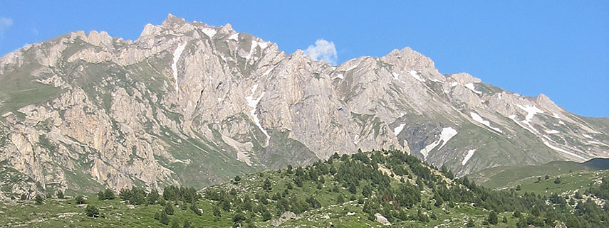 Korab mountain, Albania