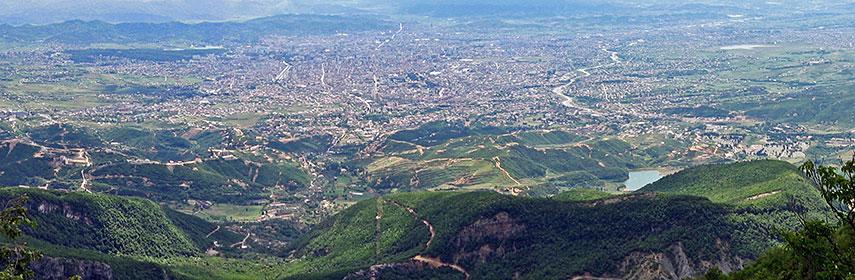 Google Map of Tirana Tiran Albania Nations Online Project