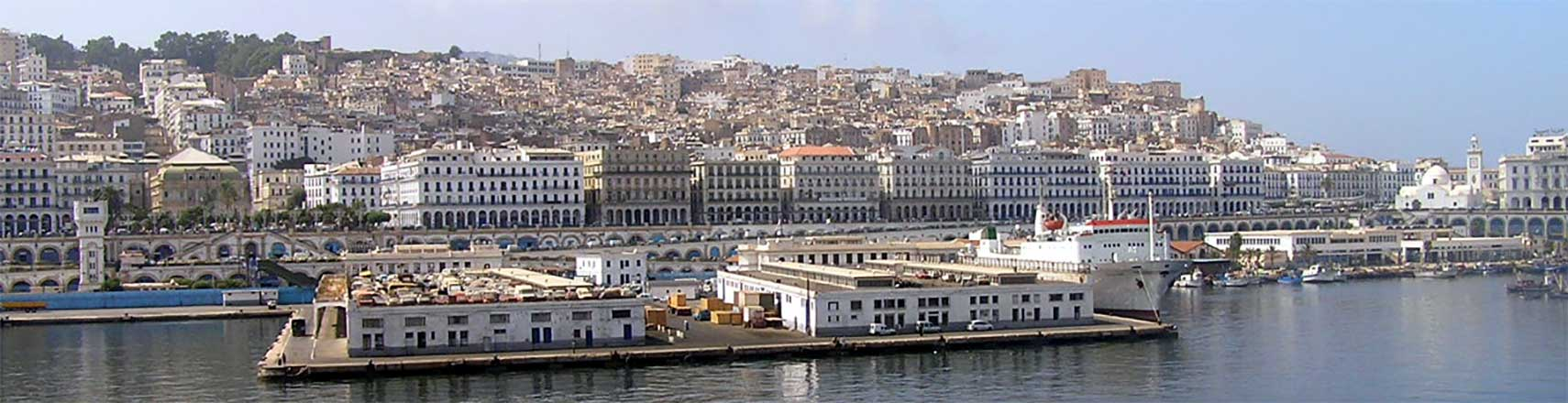 Central Algiers waterfront