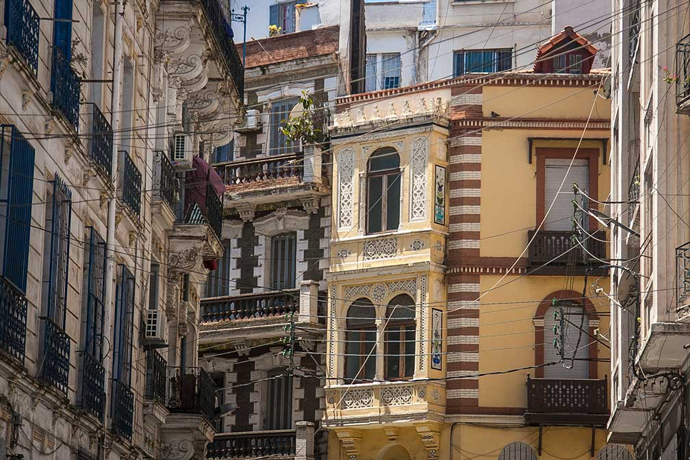 Ornamental Facades in Algiers