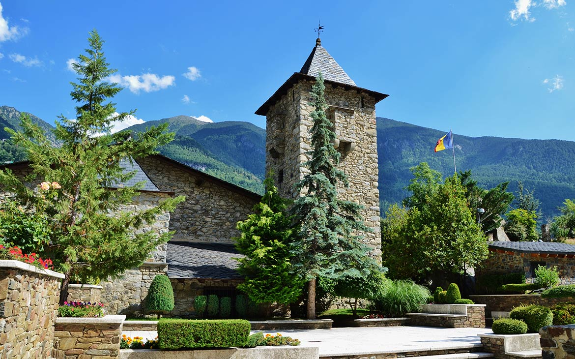 Casa de la Vall, seat of the General Council of Andorra
