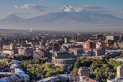 Google Map Of Yerevan Nations Online Project - yerevan map