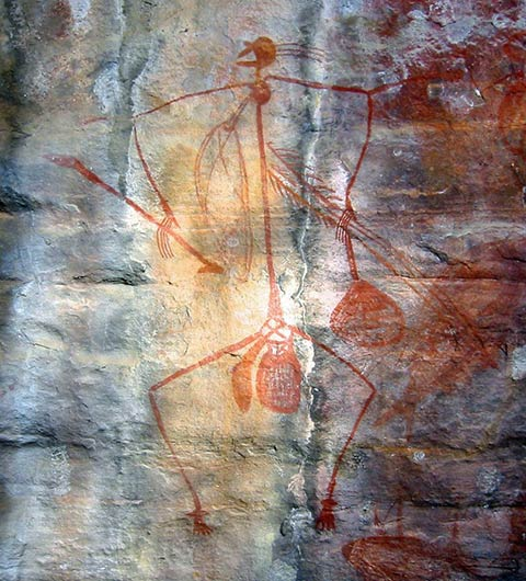 Aboriginal Rock Art, Ubirr