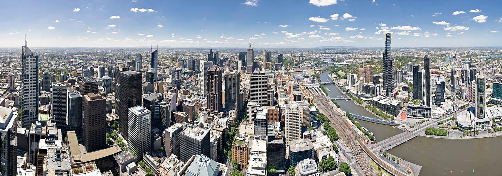 Google Map Of Melbourne Victoria Australia Nations Online Project - Map of victoria australia