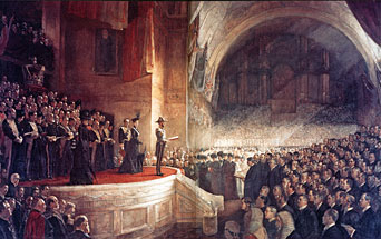 Opening of the first Parliament of Australia