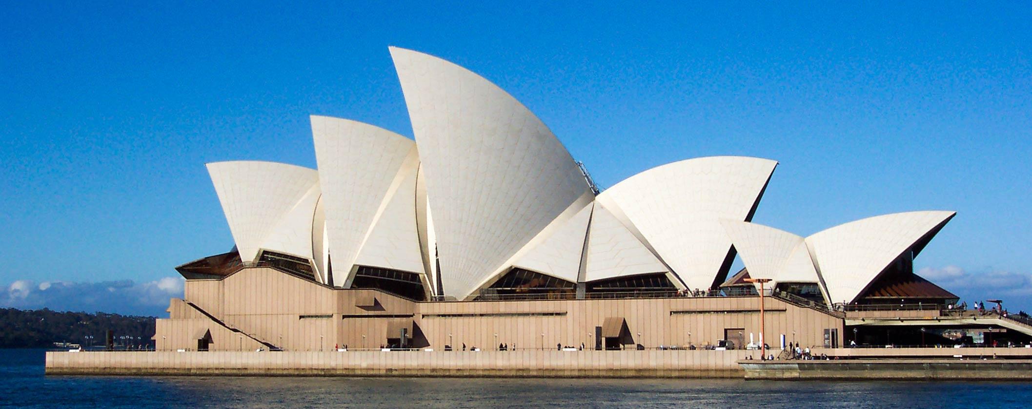 Sydney Opera House Sails DÜNYANIN ÖTEKİ UCU AVUSTRALYA