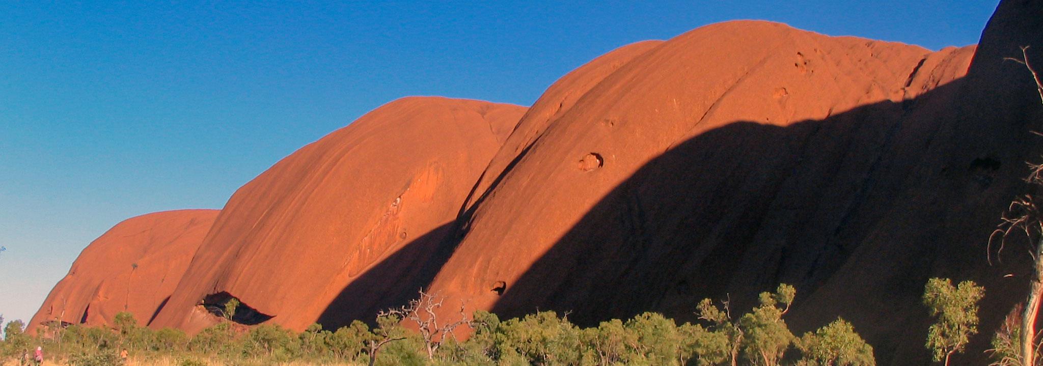 Map Of Australia Showing Uluru.Annotated Map Of Ayers Rock Uluru Northern Territory Australia