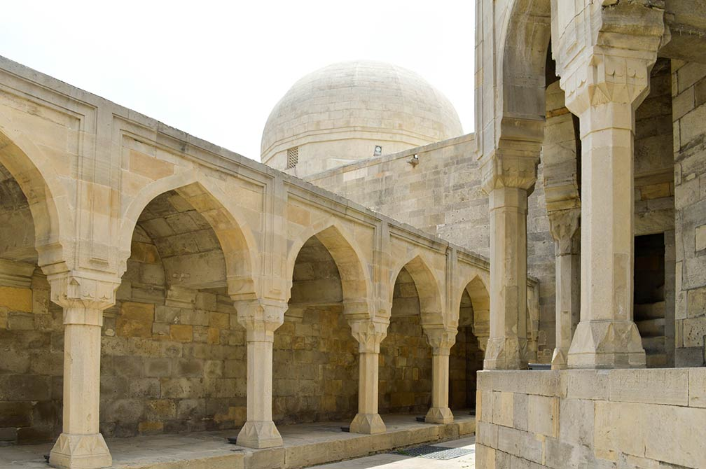 Google Map Of Baku Azerbaijan Nations Online Project