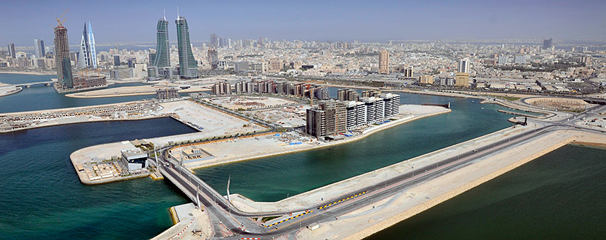 bahrain city center map Google Map Of Manama Nations Online Project bahrain city center map