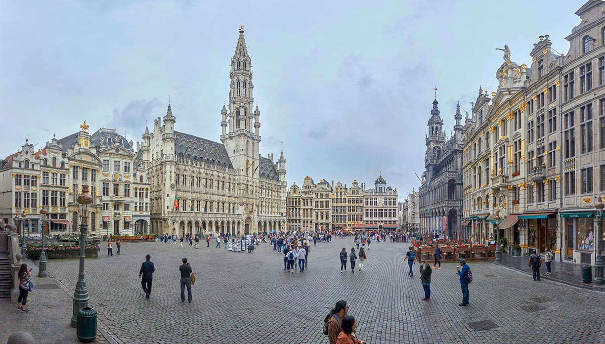 Google Map of Brussels/Belgium - Nations Online Project