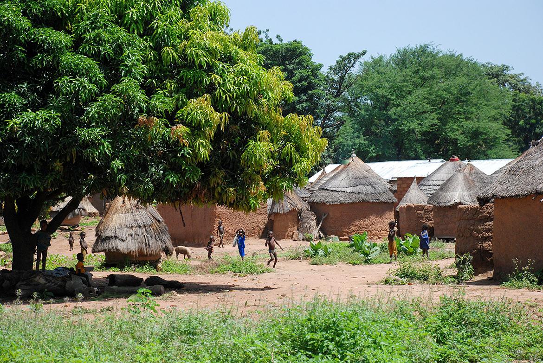 Benin village, Atakora province