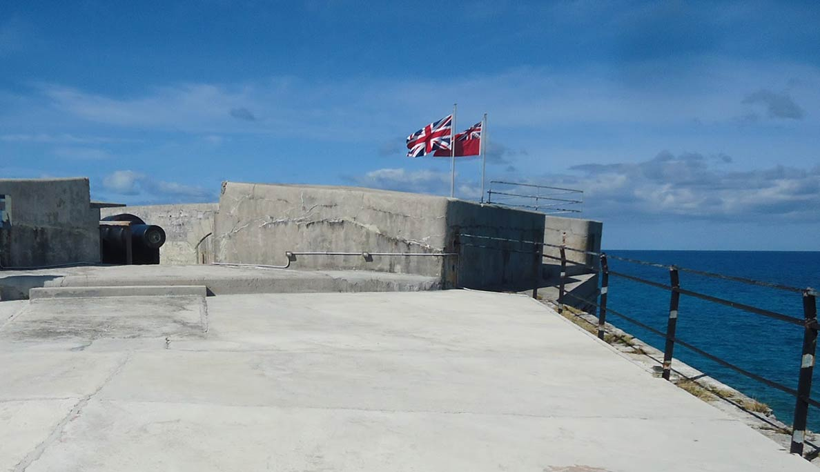 Fort St. Catherine's in St. George Bermuda