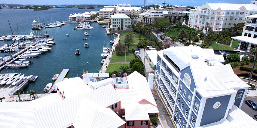 Google Map of Hamilton, Bermuda - Nations Online Project