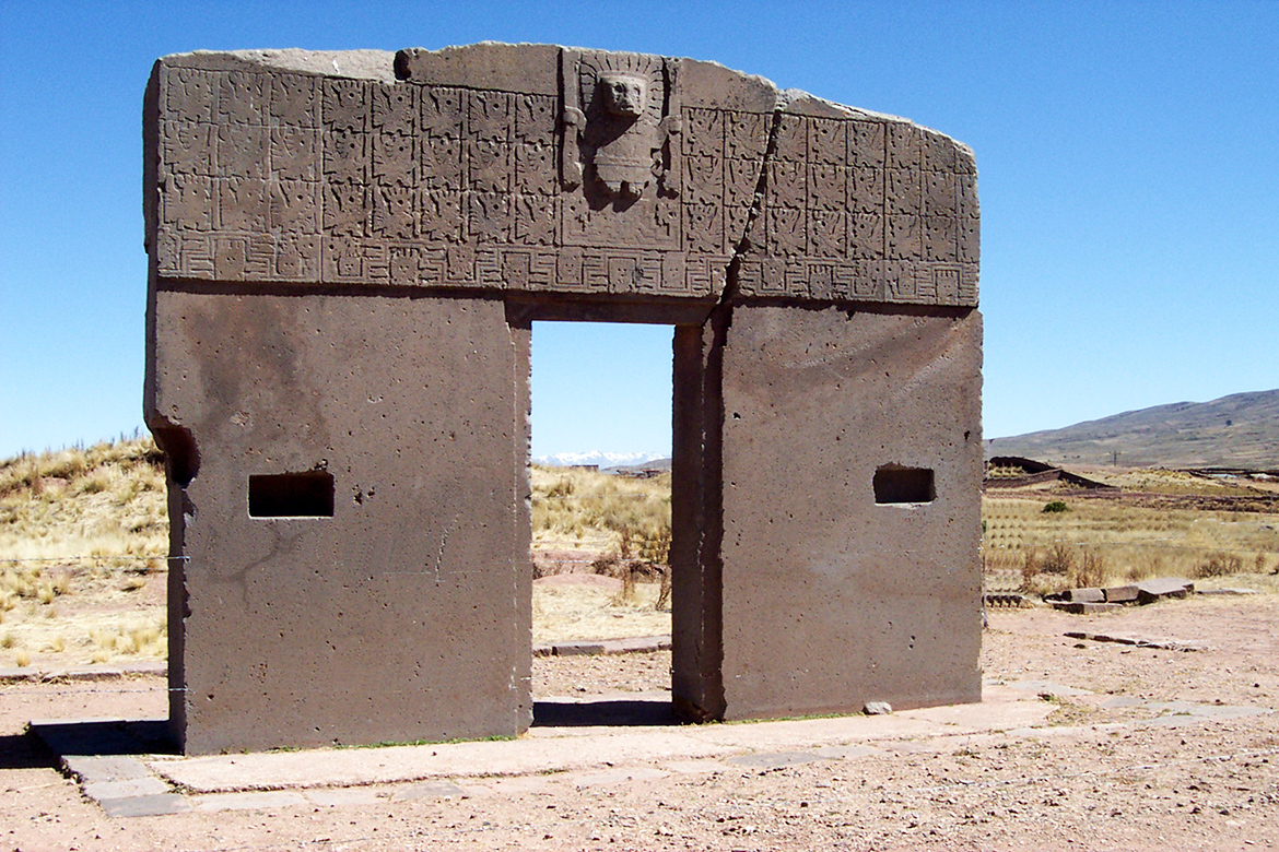 Gateway of the Sun, Tiwanaku, Bolivia