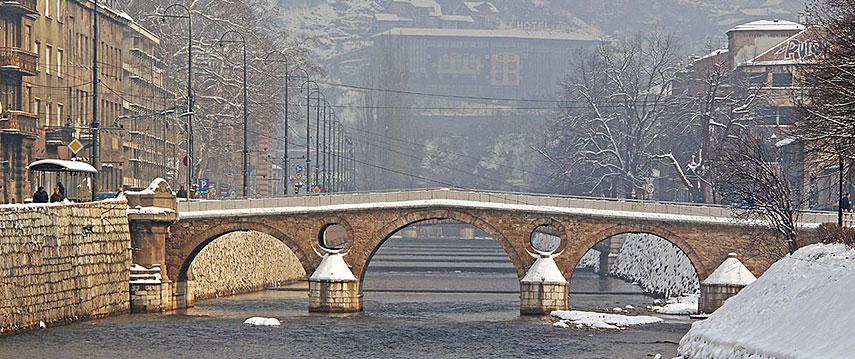 Google Map Of Sarajevo Nations Online Project - Where is sarajevo
