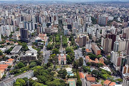 Belo Horizonte Minas Gerais fonte: www.nationsonline.org