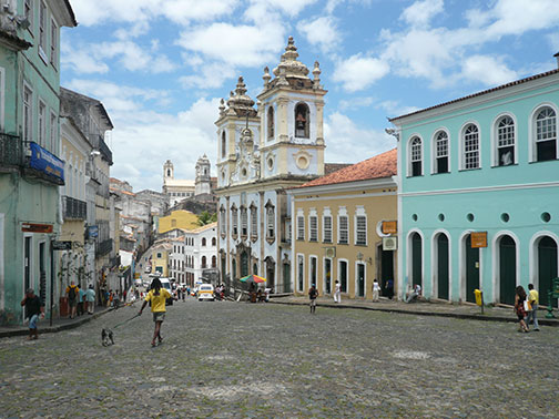 Historic Center of Salvador (Pelourinho), Bahia, Brazil