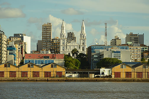 Google Map of Porto Alegre, Brazil