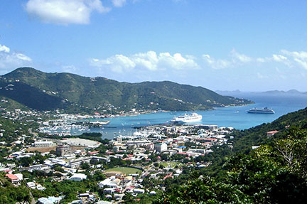 Searchable Map Of The Virgin Islands Nations Online Project - Map of the virgin islands british and us