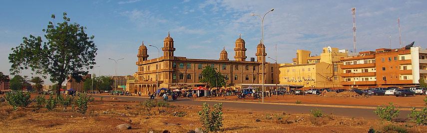 Google Map Of Ouagadougou Burkina Faso Nations Online Project