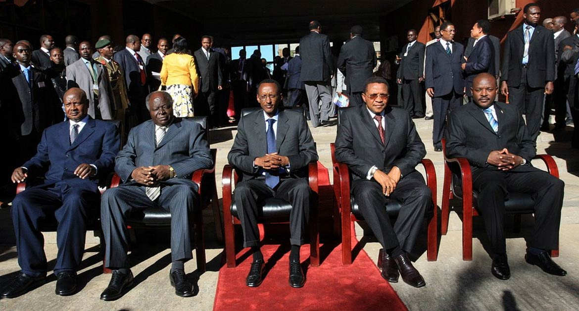 Group photo of East African leaders