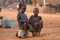 Kids of Central African Republic