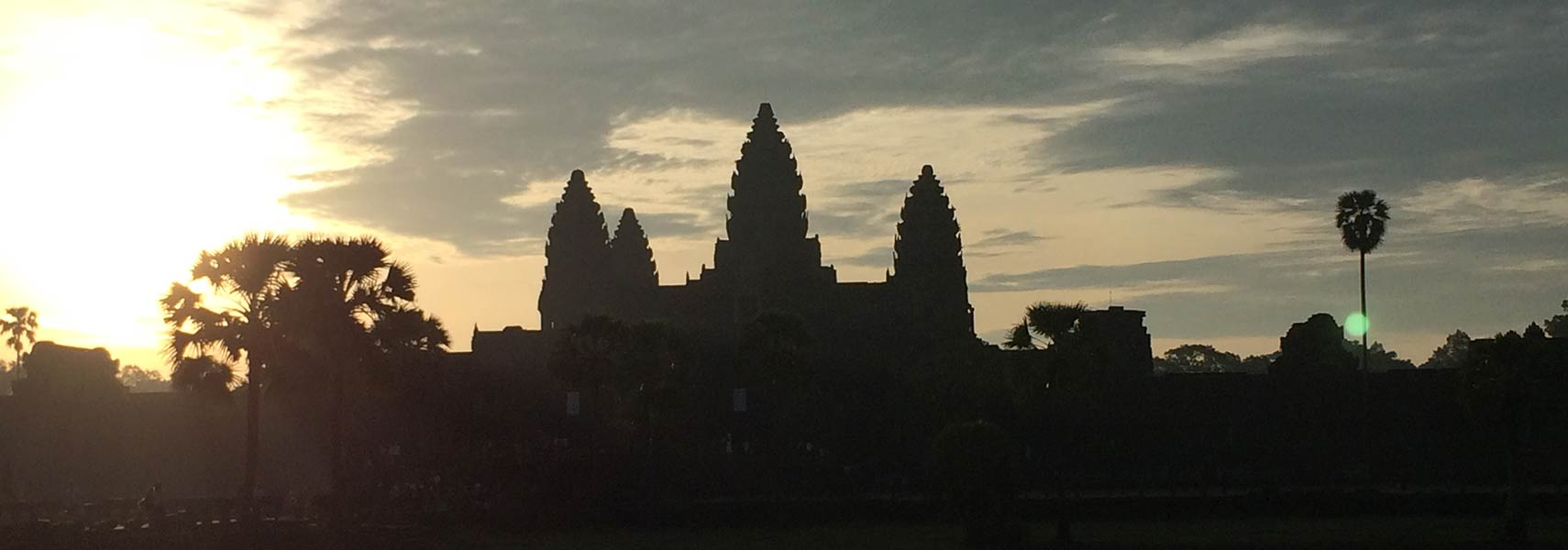 Main view of Angkor Wat temple complex, Cambodia