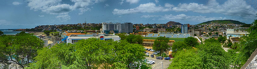 Google Map Of Praia Cape Verde Nations Online Project - Cape verde coordinates