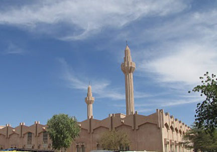 Grand mosque, N'Djamena, Chad