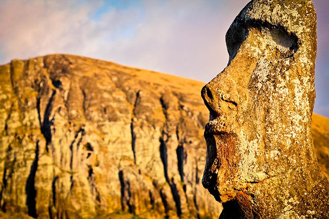Rano Raraku, Easter Islands, Chile