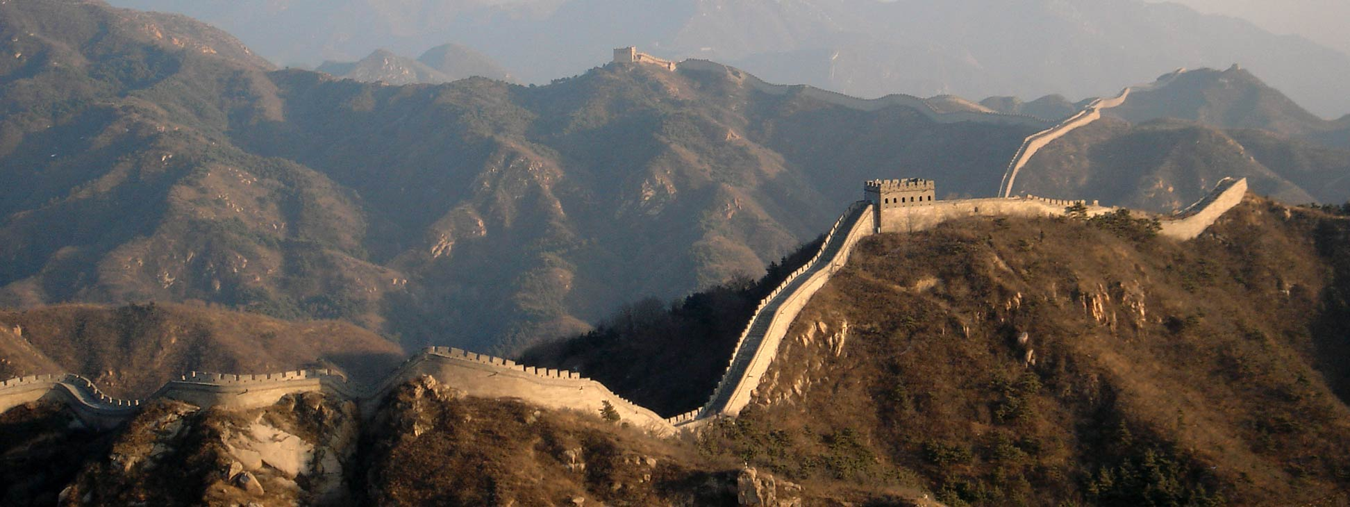 The Great Wall of China is a well known landmark in the Middle Kingdom.