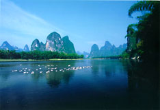 Guilin Ljiang River - China