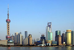 Shanghai's Pudong district
