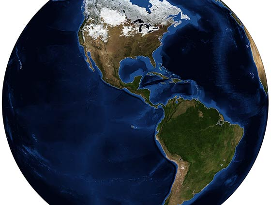 The Continents of the Americas