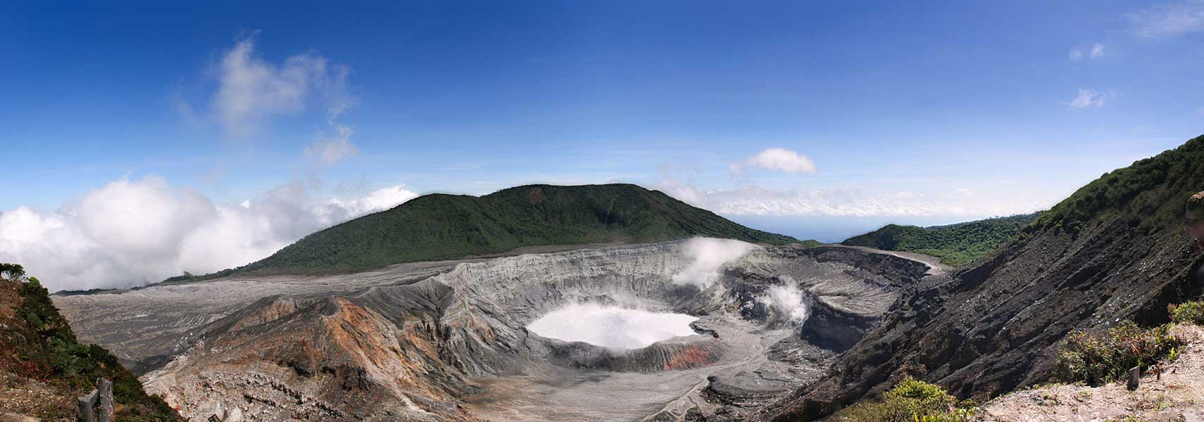 Poás volcano, Central Valley region of Costa Rica