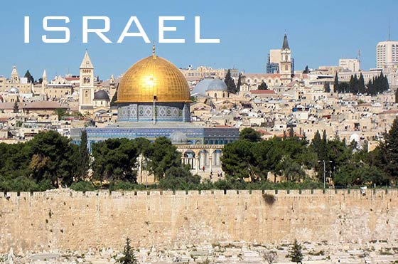 Temple Mount and Dome of the Rock in Jerusalem, Israel