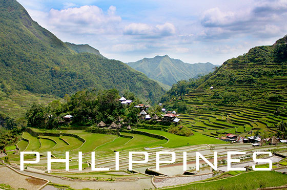 Banaue Rice Terraces, Ifugao Philippines