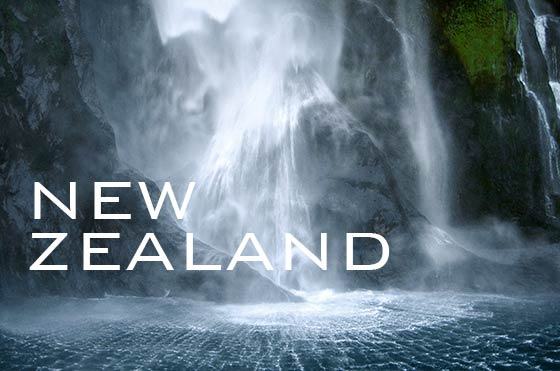 Stirling-Falls, Milford Sound, New Zealand