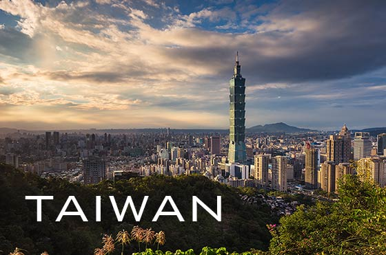 Taipei City with Taipei 101 tower