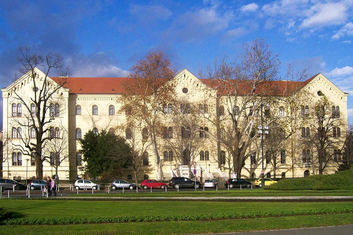 Rectorate and Faculty of Law, University of Zagreb