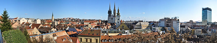 Google Map of Zagreb Capital of Croatia Nations Online Project