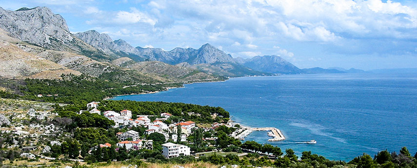 Google Map of Croatia - Nations Online Project
