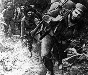 March of Fidel Castro to bring down the Batista regime.
