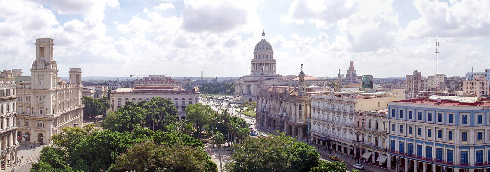 Old Havana with El Capitolio, capital city of Cuba