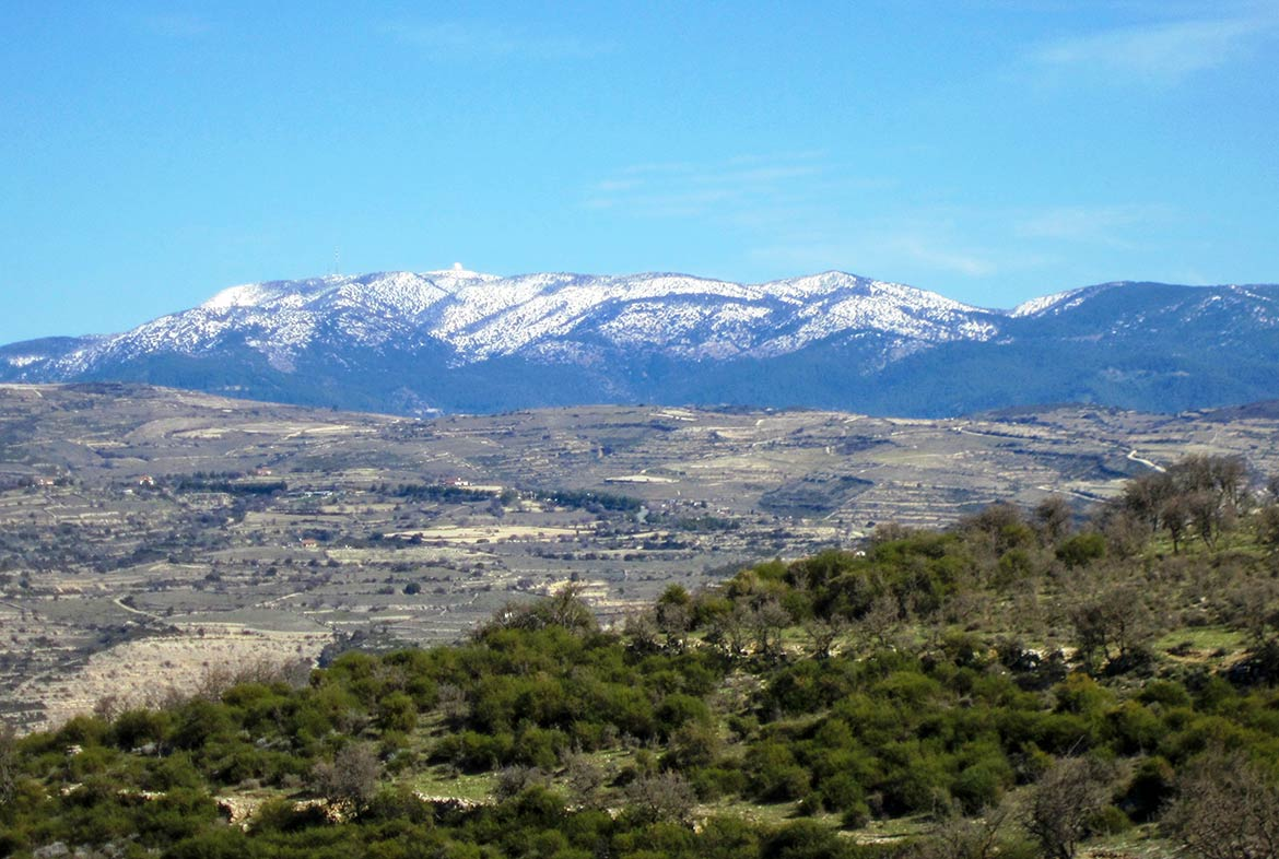 Mount Olympus (Chionistra), highest point in Cyprus