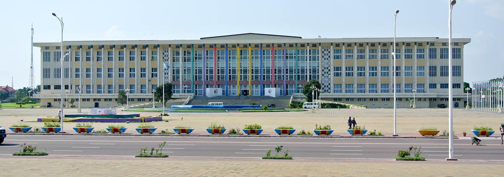 Google Map of Kinshasa, Democratic Republic of the Congo   Nations